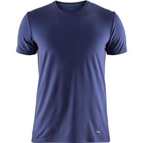 Craft Essential Warm Round-Neck SS Shirt Men maritime